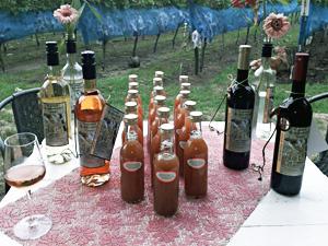 Wijn van wijngaard de zessprong